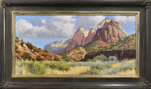 Allen Brockbank, Brushworks Gallery, Salt Lake City, Utah