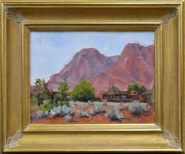 Olga Hegner, Brushworks Gallery, Salt Lake City, Utah