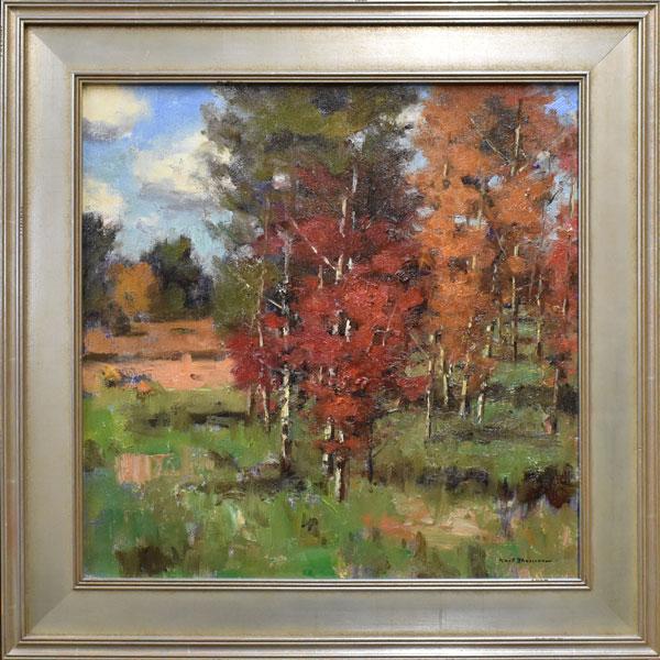 Karl Thomas, Brushworks Art Gallery, Salt Lake City, Utah
