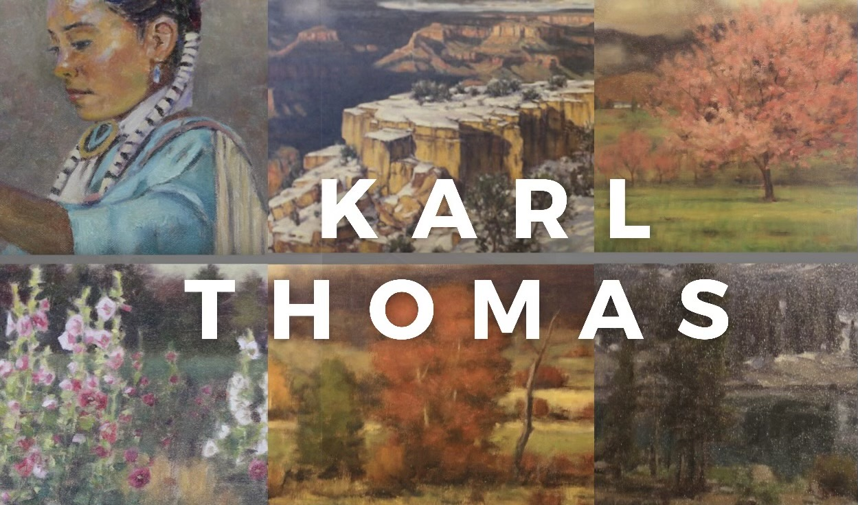 Karl Thomas Brushworks Art Gallery Salt Lake City, Utah
